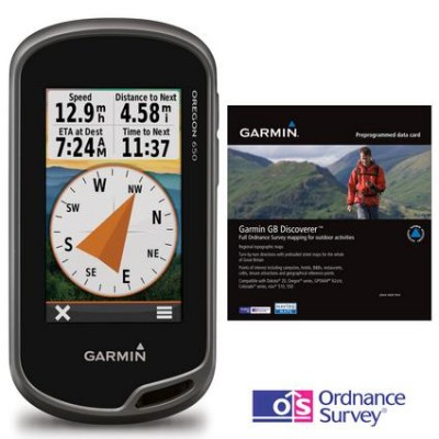 GARMIN  Oregon 650 GPS Discoverer™ Bundle